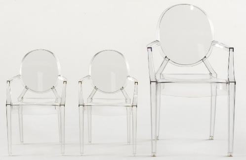 Kartell - Lou Lou Ghost helder ( Philippe Starck ) « Eetkamerstoelen | Easyget Design & Outlet