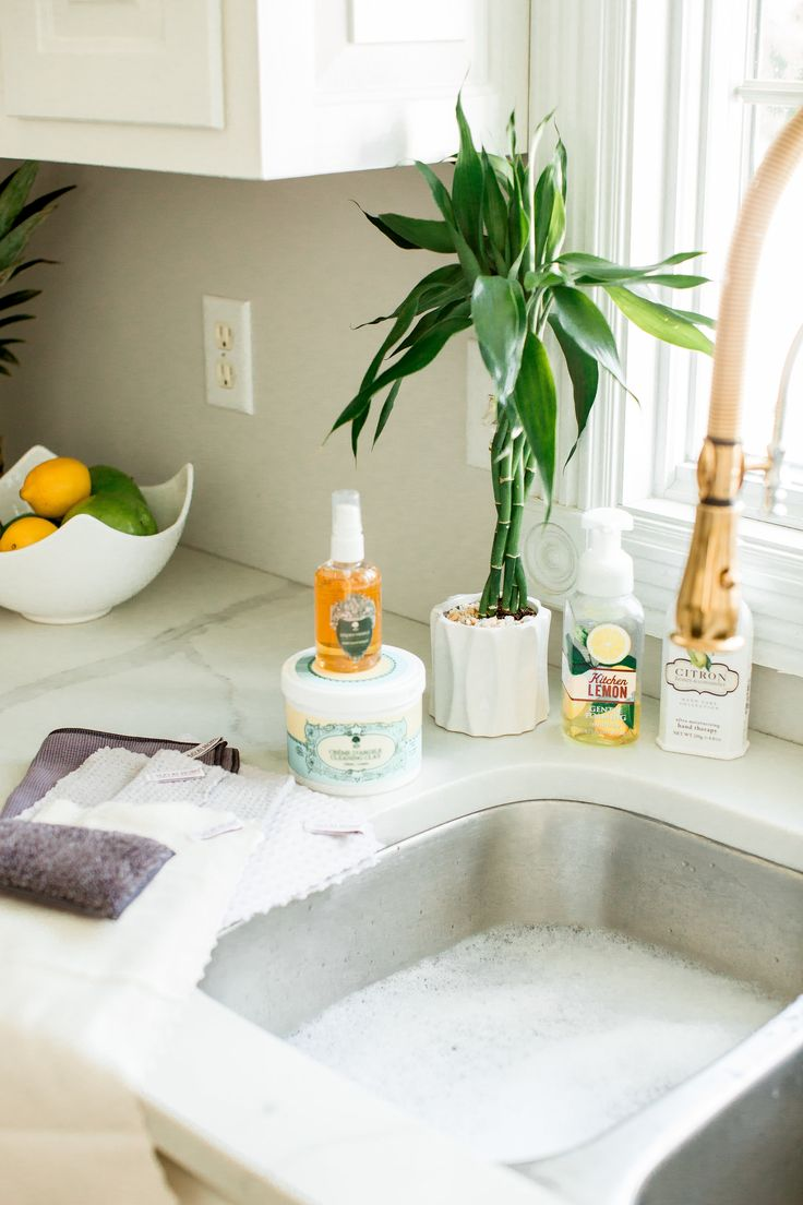 Kitchen Reveal & Cleaning Products! Beyoutiful Blog
