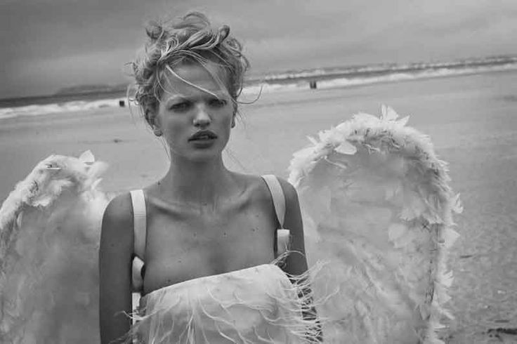 """""""Tribute to Wim"""" - Daphne Groeneveld and Pascal Greggory by Peter Lindbergh"""