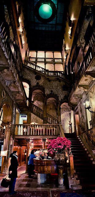 Hotel Danieli Lobby...Venice...