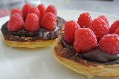 Recept: choco frambozen taartjes. Lekker hoor!
