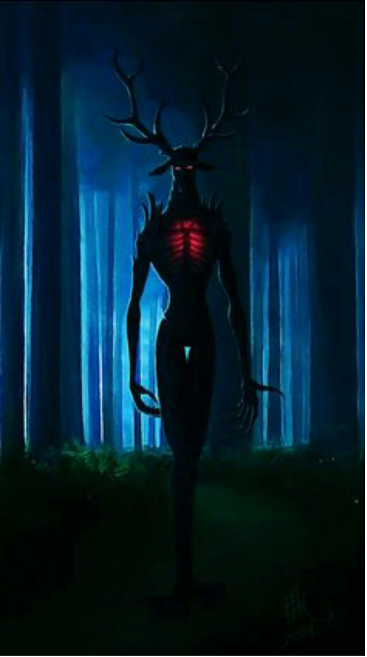 O.O So freaky. Maybe one of the anti-creature you were talking about? The horror ones?