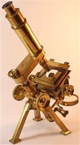 Antique Microscopes - http://AntiqueCollectorsHub.com/antique-microscopes/ They have a very nice website about microscopes. Great information as well as great pictures of wonderful pieces.