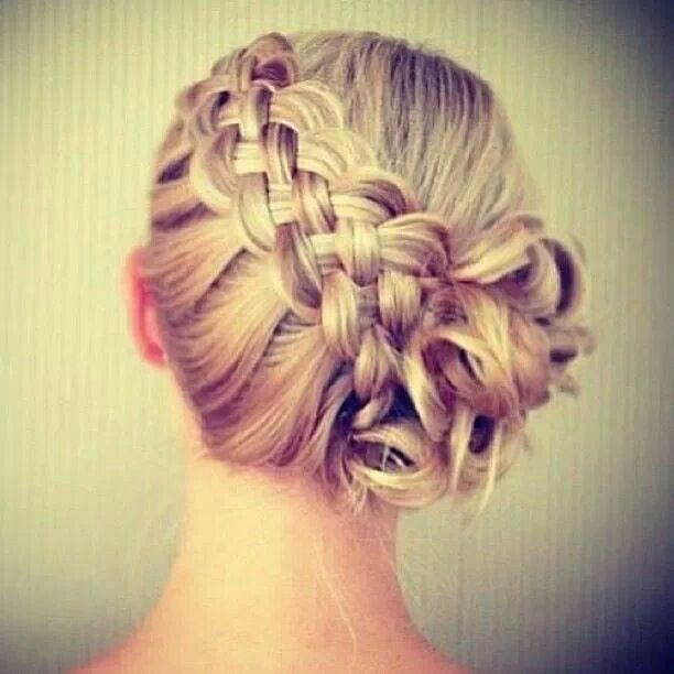 5 strand, actually really easy. look up on youtube, how to do a five strand braid! Beautiful!