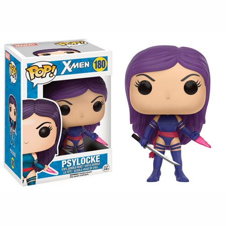 Psylocke Funko Pop Vinyl Figure From Marvel's X-Men Brought to you by Pop In A Box, the site Funko Pop! Vinyl shop