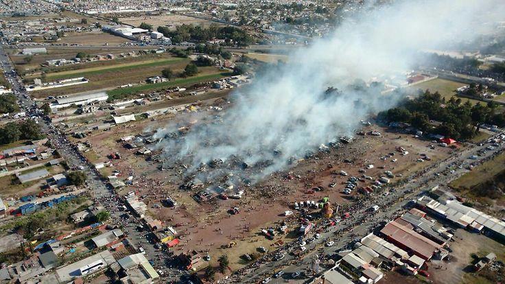 Markt für Pyrotechnik in Mexiko: Explosion reißt Menschen in den Tod