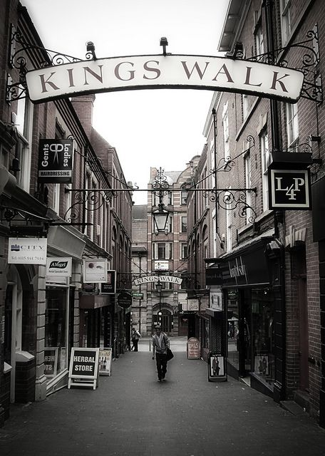 Kings Walk, Nottingham by fractalznet, via Flickr