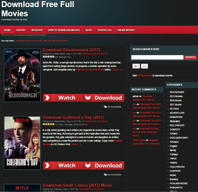 Watch latest Hollywood & Bollywood Online Movies For Free Full Movie Downloads in HD print.
