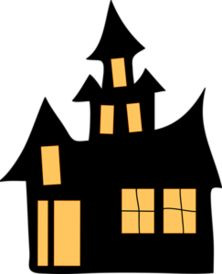 274 Best Images About Cards Halloween Houses Trees