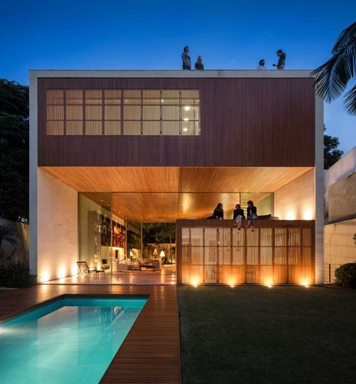 Tetris House #modern #architecture