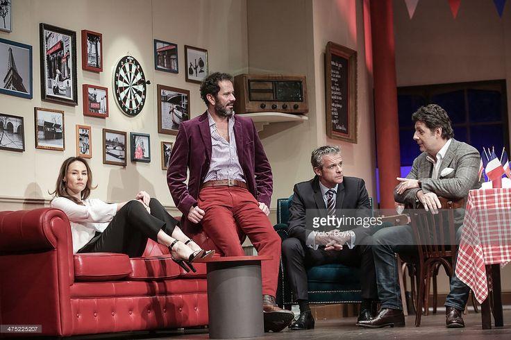 Photo d'actualité : Philippe Lellouche, Christian Vadim, David...
