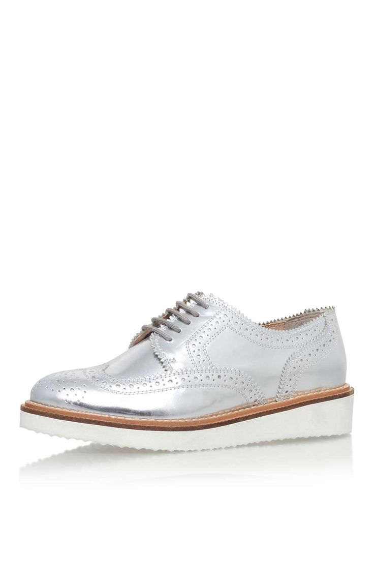 **Knox Lace-Up Brogue By Kurt Geiger - Shoes- Topshop Europe