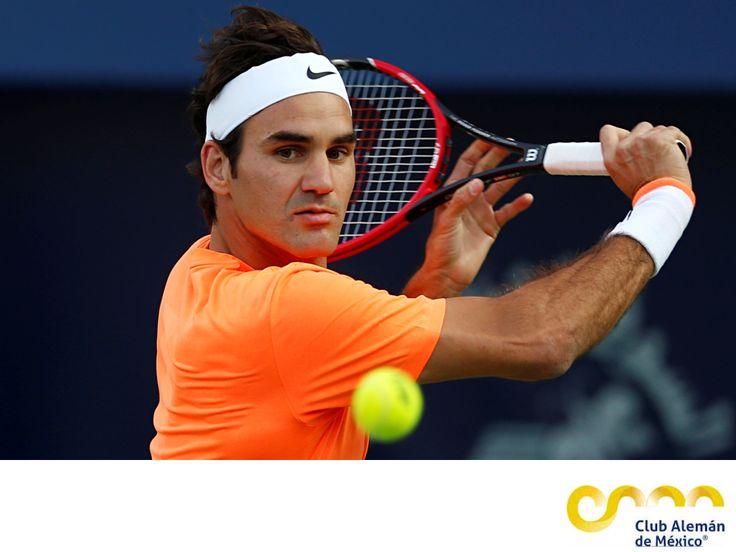 ¿Quién ocupa el lugar 3 del ranking de la ATP? EL MEJOR CLUB DEPORTIVO DE MÉXICO.Se trata de Roger Federer, originario de Suiza y uno de los mejores tenistas de los últimos tiempos. Ganó la Copa Davis y una medalla olímpica de oro en Beijing en dobles; actualmente se prepara para participar en los Juegos Olímpicos de Río 2016. En el Club Alemán de México, te invitamos a practicar tenis con los mejores instructores.#tenis