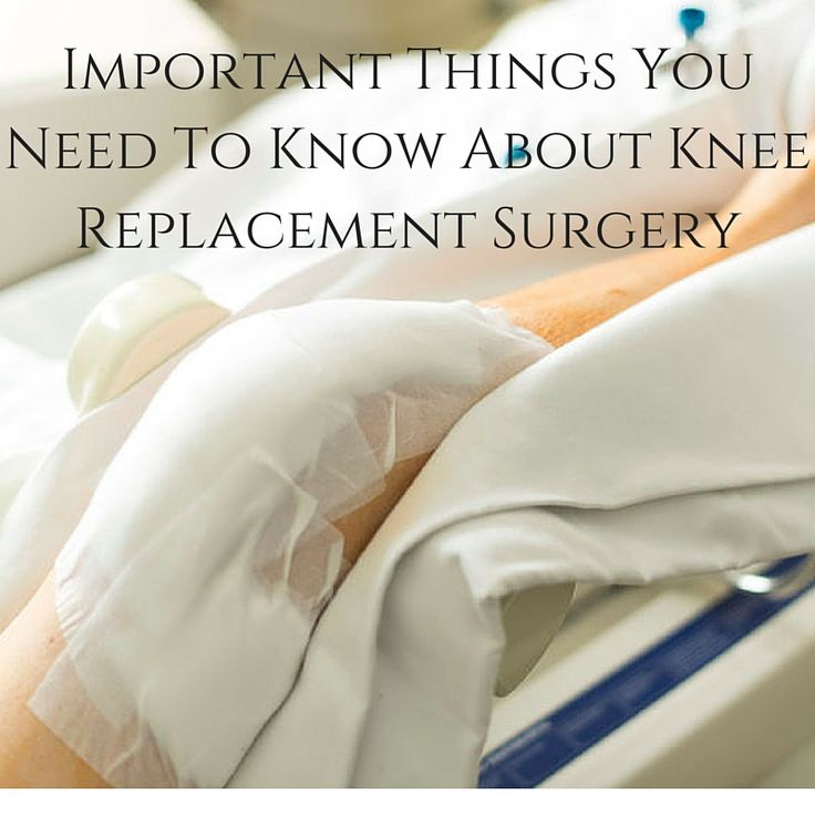 #Knee replacement #surgery is hard enough as it is, you don't need to make it worse by being unprepared. Read our latest post for important pre-surgery info.    #health #fitness #knee #problems #pain #surgery #recovery