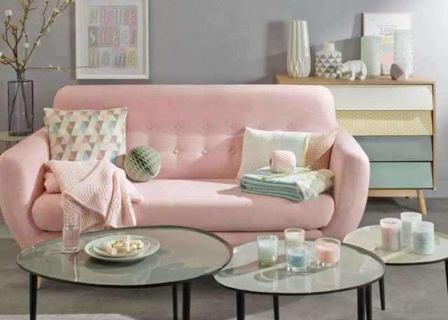 Collection Pastel de Maison du monde en 2015. Beaucoup de jolies choses pour adoucir son interieur !