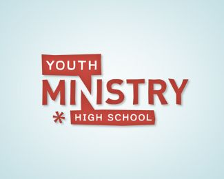 """I never thought I would call a church logo """"cool"""", but here I am. I love the use of negative space in the logo, and I think that the uniqueness of the logo would definitely attract young students. It doesn't look like a strict, stuffy church; it looks like a fun and welcoming place. Very unique"""