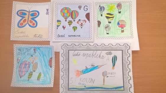 Poštovní známky 2