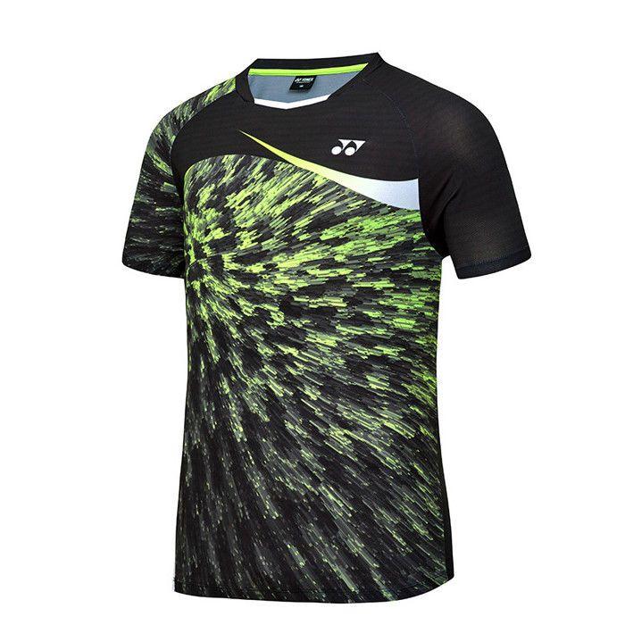 553f15a2c Yonex 2018 S S Collection Men s Badminton Round T-Shirts Yellow NWT  81TS049MNY  YONEX
