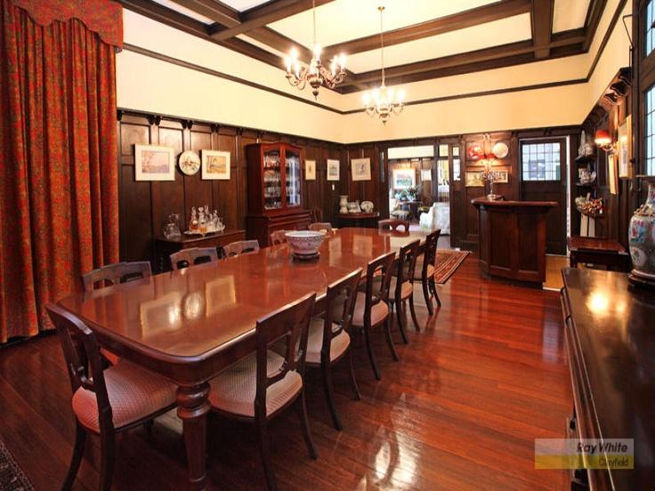 Art deco dining hall