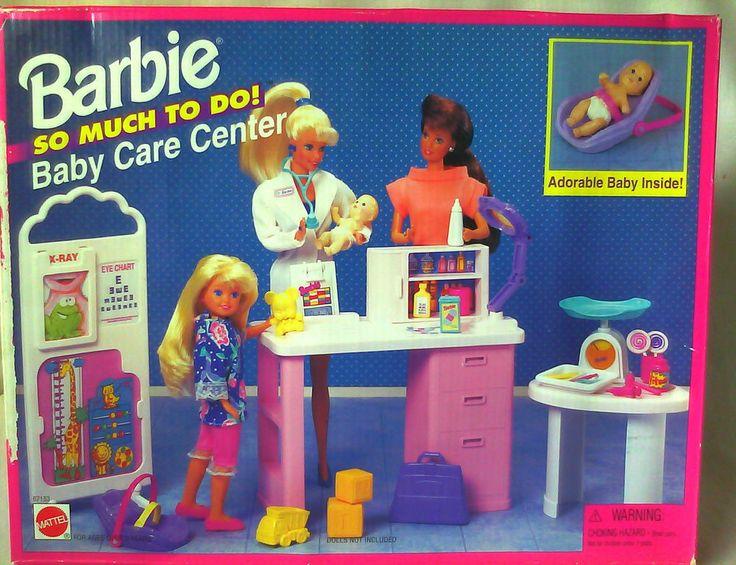 Vintage Barbie Baby Care Center, via Pinterest
