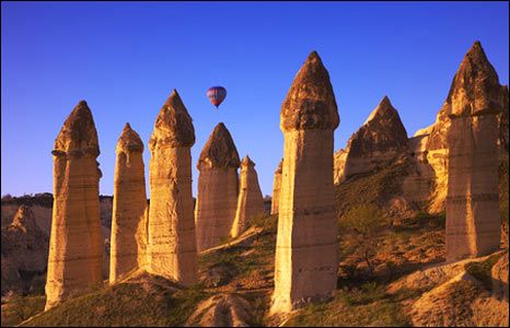 Goreme fairy chimneys