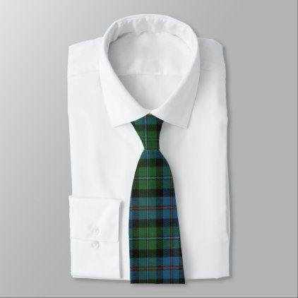 Campbell Cawdor Ancient Scottish Clan Tartan Tie - traditional gift idea diy unique