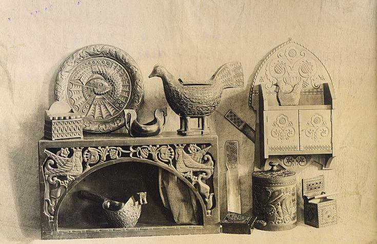 Русский стиль. Фотографии 1920-х гг. из архива ВМДПНИ.