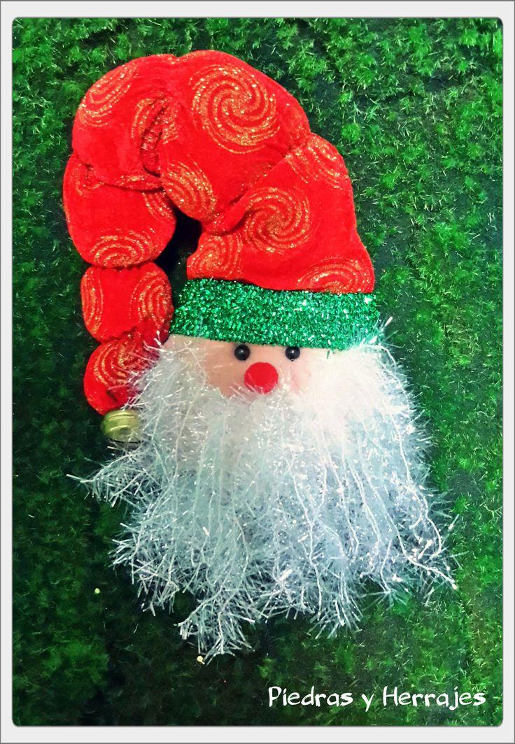 Cabeza Papa Noel pequeño Medellín, Colombia. Cra52 # 45-23 Carabobo, Cel.3127994768 Cristina