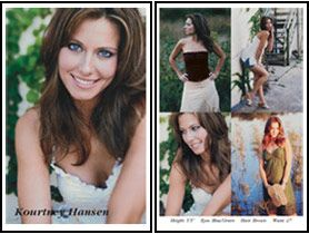 44 Best Model Comp Cards Examples Images