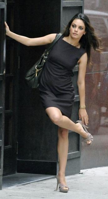 Mila Kunis  Little Girl all grown up. xox