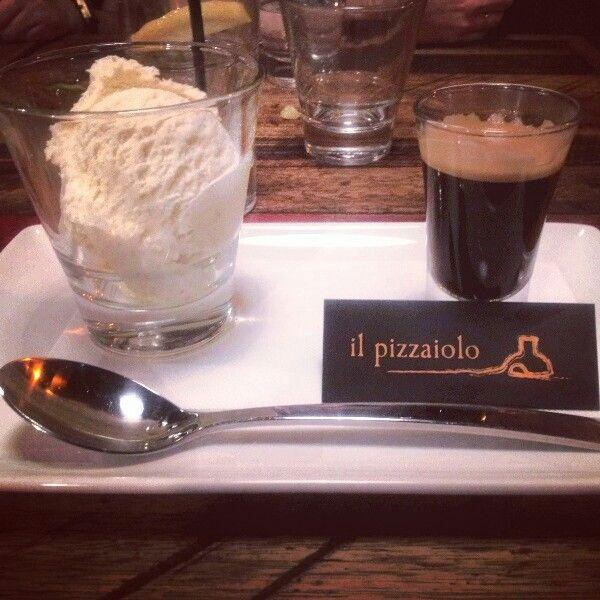 Affogato at Il pizzaiolo, Darebin Rd #Thornbury #pizza #restaurant #glutenfree #Melbourne #Australia #NoHe