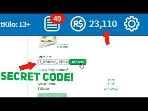 roblox how to redeem robux codes