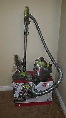 Hoover Vacuum Cleaner WindTunnel Air Bagless Corded Canister Vacuum