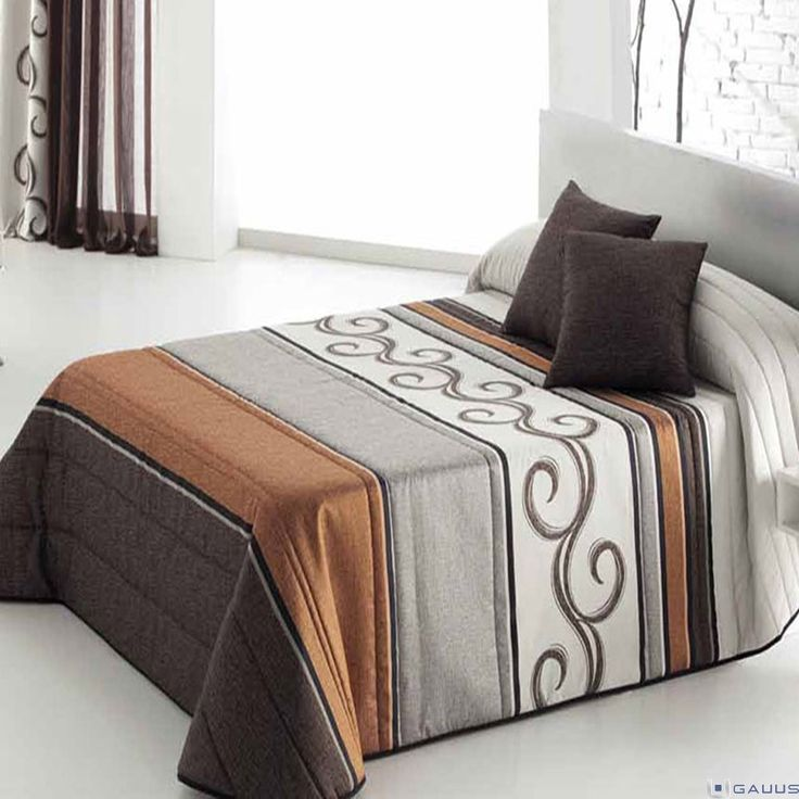 17 best images about ropa de cama on pinterest triangle - Colchas y cortinas modernas ...