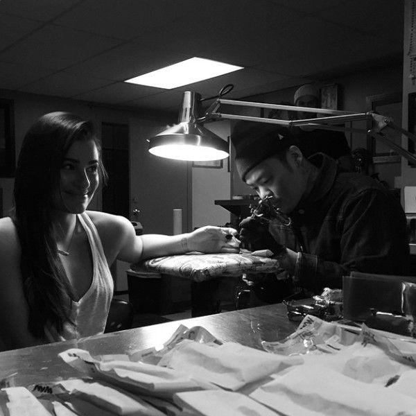 Lea Michele and Boyfriend Matthew Paetz Get Tattoos?Take a Look!