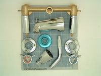 Locke Plumbing.  Source for affordable retro plumbing fixtures.