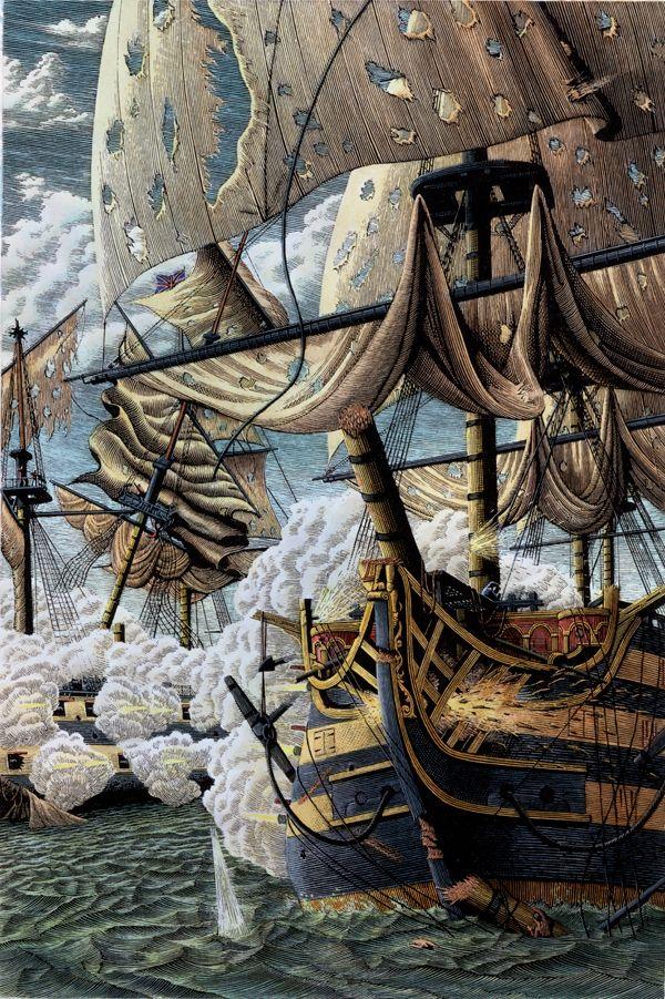 Battle on sea