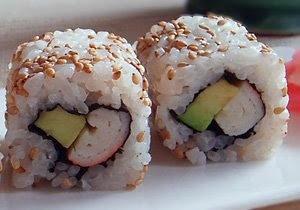 Recetas Japonesas en español!: Ura-Maki - Sushi de California