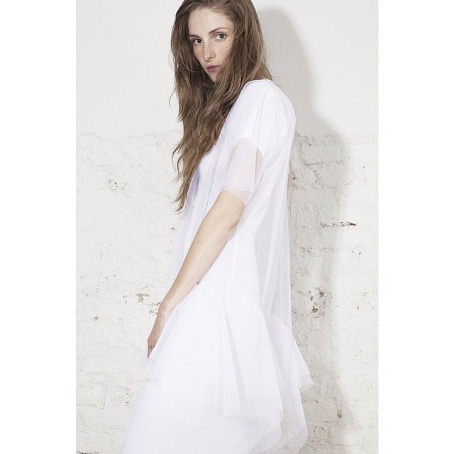 www.odivi.cz  Infinity as well as a clear objective. #ODIVI #SS14 #tule #dress