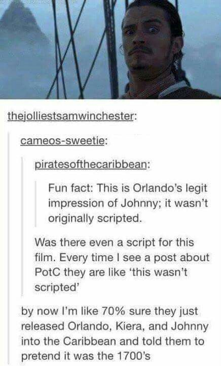 HA!! Pirates of the Caribbean