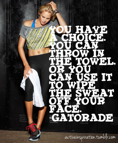 Workout Towels With Sayings: 17 Best Images About Gatorade On Pinterest
