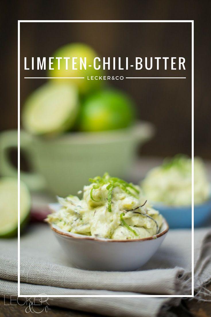 Limetten-Chili-Butter
