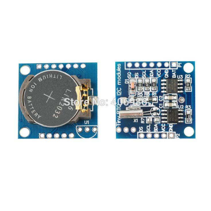 I2C RTC DS1307 AT24C32 Real Time Clock Modul untuk Arduino 51 AVR ARM PIC untuk Arduino UNO