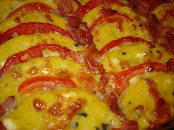 Polenta - Mamaliga la cuptor