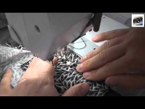 XXX A tester en pièce d'étude : Pose de la braguette - video Coralie Bijasson