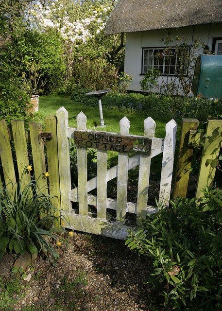 35 best cottage nameplate gate signs images on pinterest Alaska garden gate b b and cottages