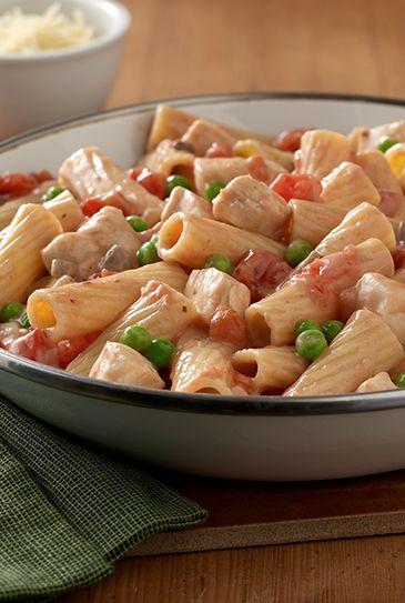 Creamy Rigatoni With Chicken And Mushrooms Recipes — Dishmaps
