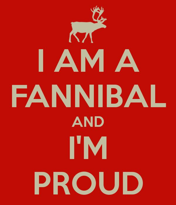 Image result for fannibal and proud