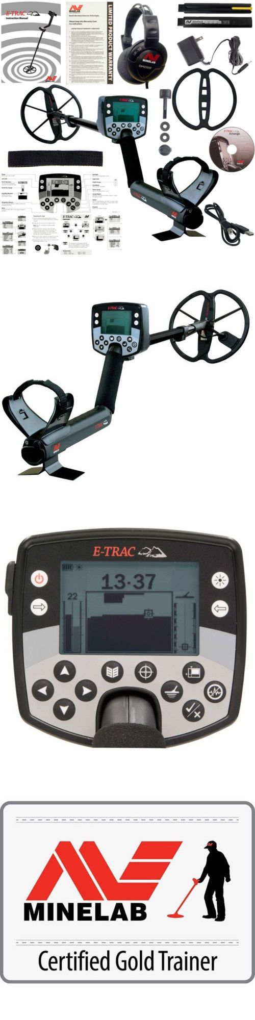 Metal Detectors: Minelab E-Trac Metal Detector W 11 Dd Search Coil And 3 Year Warranty 3228-0002 -> BUY IT NOW ONLY: $1549 on eBay!