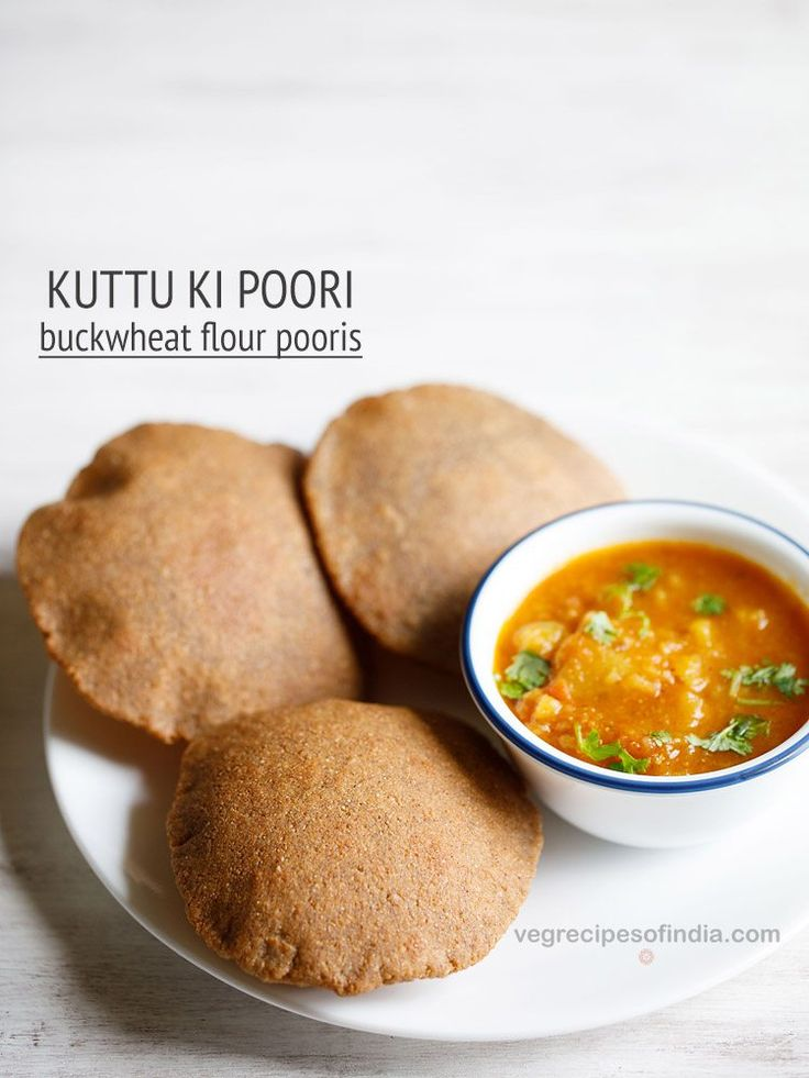kuttu ki poori recipe with step by step photos. crisp and tasty pooris made with buckwheat flour for fasting or vrat.    kuttu ki poori recipe is made during religious fasting days like shivratri fast or ekadashi fast …